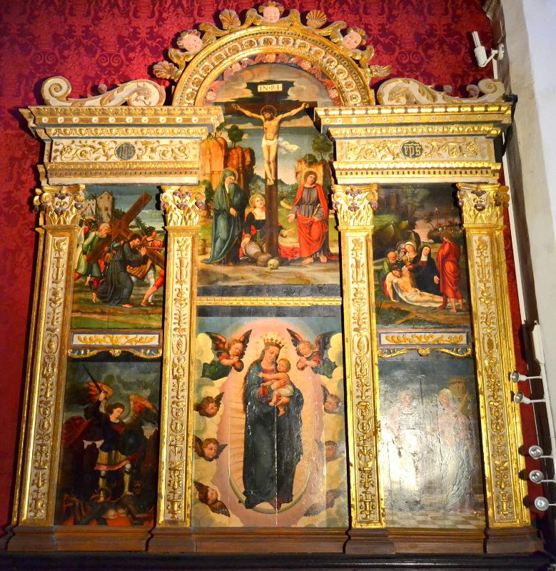 Retablo de la Virgen con el Niño