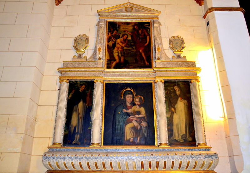 Retablo de la Virgen del Pópulo