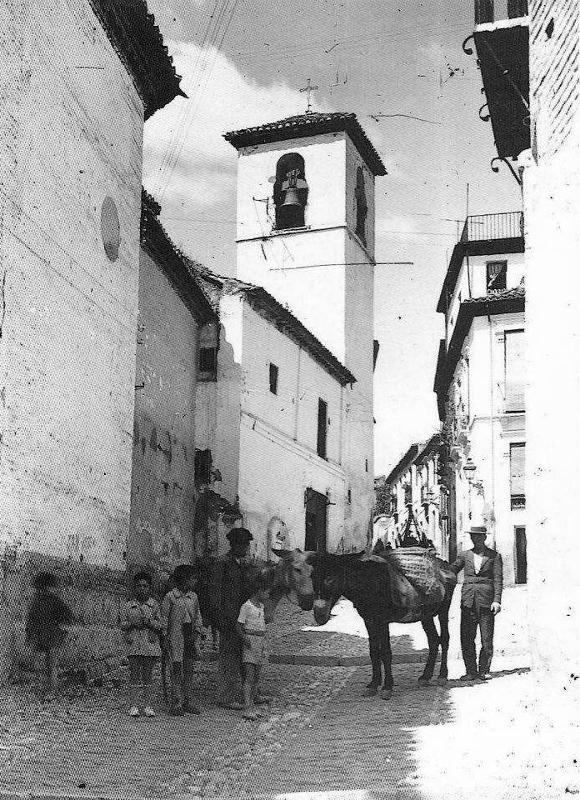 Fachada de San José a principios del siglo XX