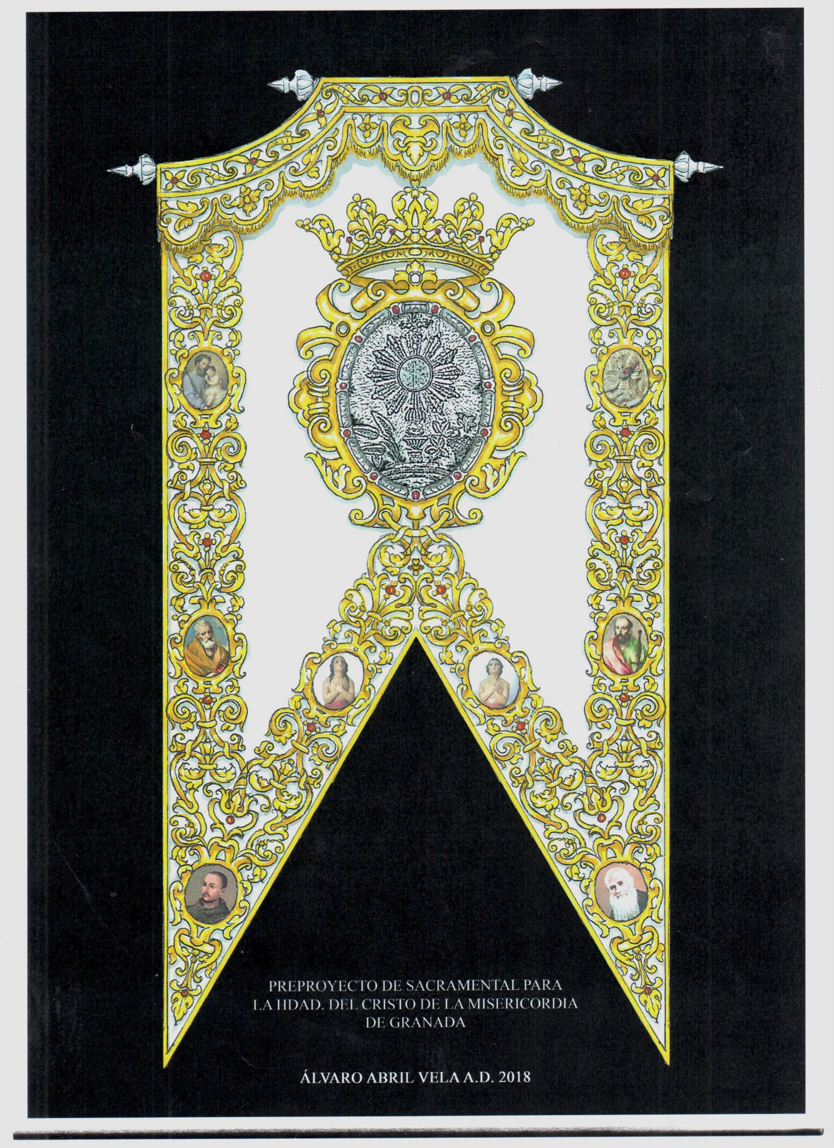 Guion sacramental con cartelas
