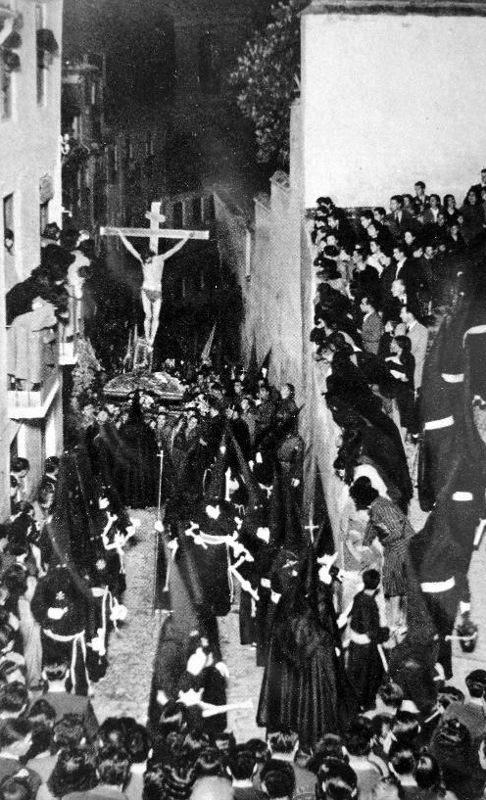 Cristo de la Misericordia por la Cuesta de San Gregorio, s.f.