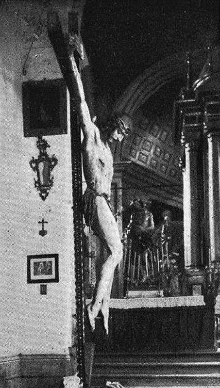 Cristo de la Misericordia en San Pedro, s.f.